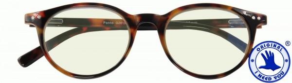 Computerbrille Bluebreaker Panto havanna