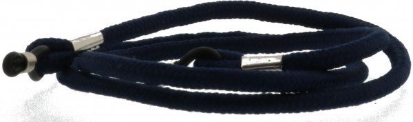 Brillenkordel blau