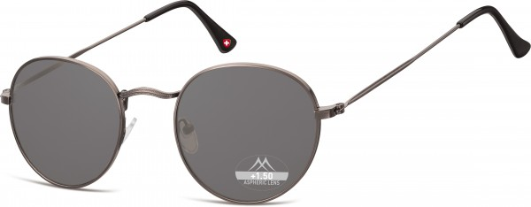 Sonnenlesebrille HMR54S schwarz