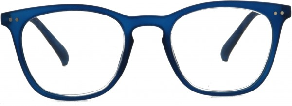 Lesebrille Tailor mit Soft Touch Oberfläche in blau für Damen und Herren