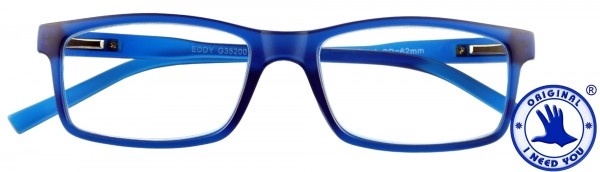 Lesebrille Unisex Eddy blau