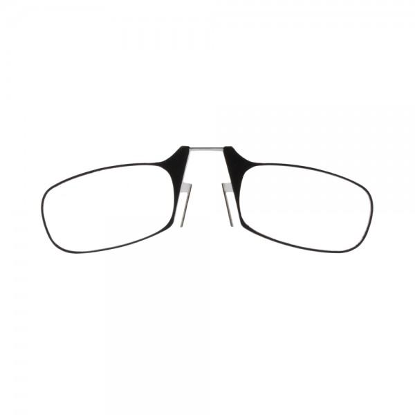 Lesebrille ZCB356 Nasenclip schwarz Front