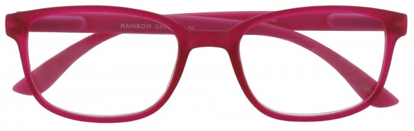 Lesebrille Rainbow pink Front