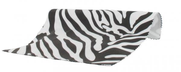 Brillenputztuch Safari Zebra