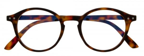 Blaulichtfilterbrille Cooper für Damen und Herren in der Farbe havanna