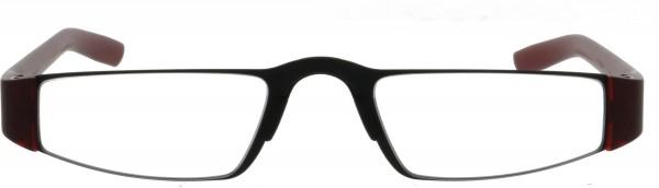 Lesebrille Porsche Design Reading Tool P8801 titanium black bordeaux Front